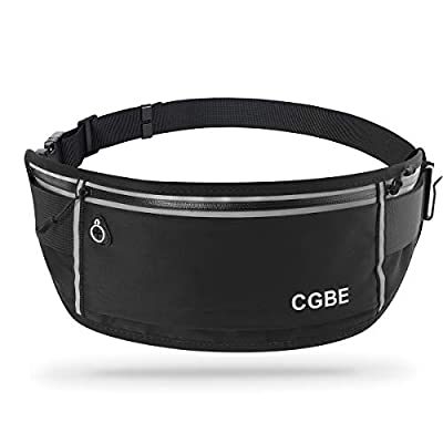 CGBE Running Belt, Running Fanny Pack for Man and Women, Running Phone Holder Bag,Running Waist Pack?Cool Gadgets for Working Dog, Money, Hiking and Gym Accessories from CGBE