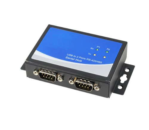 SIIG USB to RS-422/485 Serial Adapter - 2-Port (ID-SC0Q11-S1)