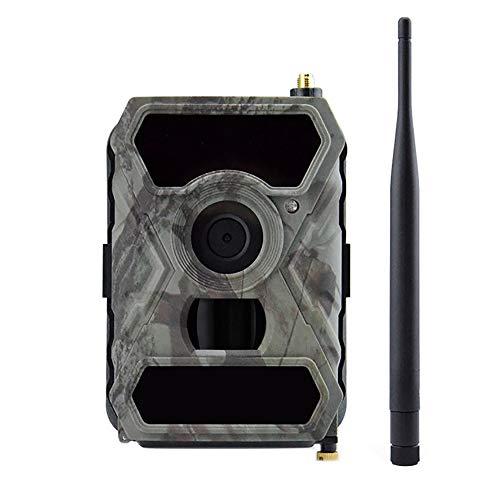 """LMYMX Nachtkamera Wildkamera 1080P HD, IR LEDs Nachtsicht bis zu 49ft / 15M mit IP66 wasserdichte Überwachungskamera, mit 2,0\"""" LCD Display für Jagd und Sicherheit zu Hause"""