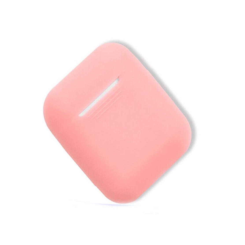 オリエンタル気分が良い錆びShengshihuizhong AirPodケース、ワイヤレスBluetoothヘッドセットシリコンケース、さまざまな色から選択可能 最新のスタイル (Color : Pink)
