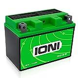 IONI 883731 ITZ12S 12V 11Ah AGM Compatibile con la Batteria per Moto YTZ12S / YTZ14S sigillata/accumulatore Senza Manutenzione