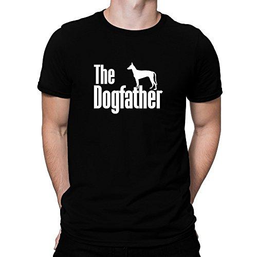 Teeburon The Dogfather Podenco Canario Camiseta
