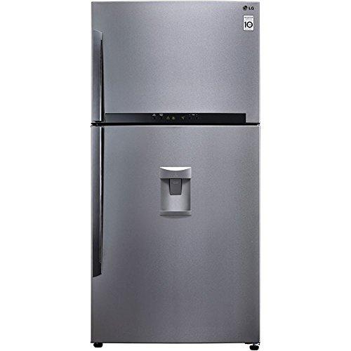 LG GTF925PZPM Libera installazione 570L A++ Acciaio inossidabile frigorifero con congelatore