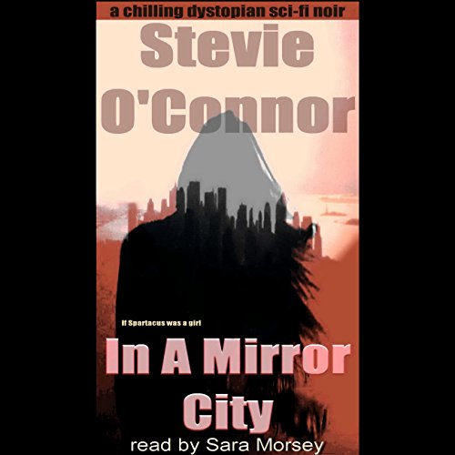 In a Mirror City audiobook cover art