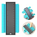 【2020 NEW】Contour Gauge Duplicator, Plastic Woodworking Shape Tracing Template Measuri...