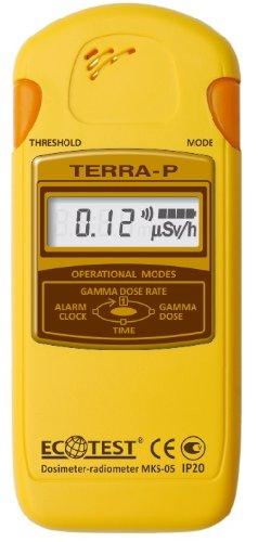 【日本語完全取説付】放射線測定器 ECOTEST TERRA-P MKS-05