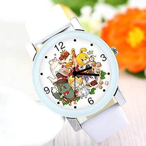 Animal Crossing Toys Reloj de Cuarzo con Reloj para Hombres y Mujeres Animal Crossing Watch
