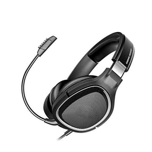Auriculares para Juegos con Reducción De Ruido, Auriculares para Juegos Estéreo, Conector De Audio De 3,5 Mm, Orejeras Súper Cómodas, para Xbox One (Sin Adaptador), PS4 Y PC