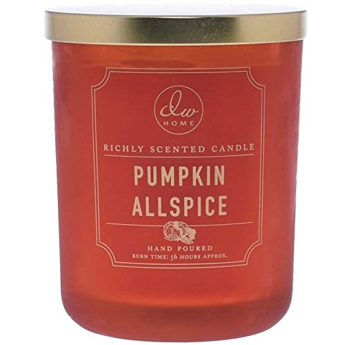 DW Home Large Pumpkin Allspice Scented Candle