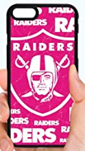 Raiders Logo Pink Background Girls Football Phone Case Cover - Select Model