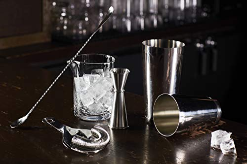 Cocktail Kingdom Essential Cocktail Set - Stainless Steel