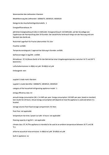 KLARSTEIN CO2-1400-kaai