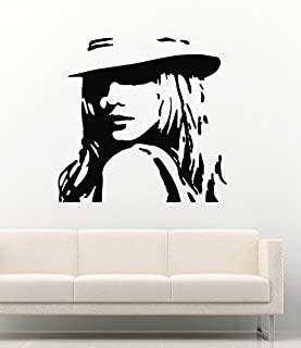 Britney Spears Vinyl Wall Decals Famous Person Pop Music Singer Vinyl Decor Murals Stickers MK2068