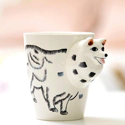Espressotasse Geschenk Kreatives Geschenk Keramik Kaffee Milch Tee Tee Becher 3D Tierform Hirsch Giraffe Kuh Affe Hund Katze Kamel Elefant Pferd Tasse, Siehe Tabelle