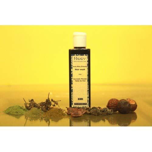 Amla Ritha Shikakai Hair wash Shampoo -Inspired by Ayurveda 100 ML (3.3OZ)