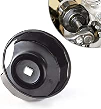 Oil Filter Cap Wrench compatible with Harley-Davidson Twin Cam 76 mm 14 Flutes (Crank Sensor) - By KiWAV