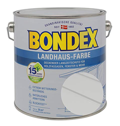 Bondex Landhaus-Farbe 2,50l lichtgrau - 391312