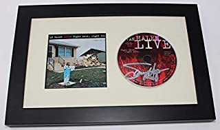 Van Halen Right Here, Right Now Sammy Hagar Authentic Signed Autographed Music Cd Cover Compact Disc Framed Display Loa