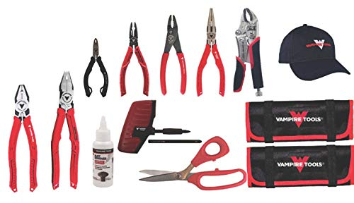 VAMPLIERS. Best Made Pliers. 10-pc Set+Free CAP & 2 Free Tools Pouches, Best Screw Extraction Pliers Set to Remove Damage screws for Black Friday/Cyber Monday/Cyber Week deals/Makes the Best Gift.
