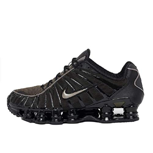 Nike Shox TL Sneaker (Khaki/Black, Numeric_44_Point_5)