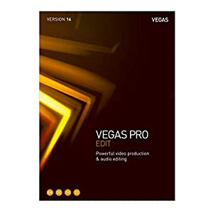 VEGAS Pro 16 Edit – Professional video and audio editing [PC Download]