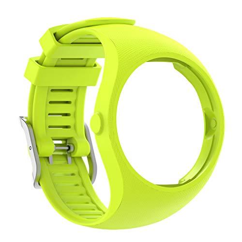 zrshygs Pulsera Reemplazo de Silicona Banda de Reloj Correa de muñeca para Reloj Inteligente Polar M200