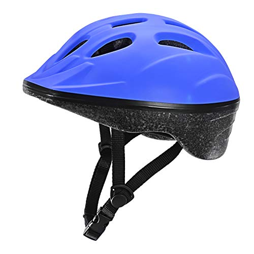 TurboSke Kid's Helmet, Children's Bike Helmet (Blue)