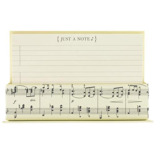 Musical Note Cards With Decorative Box