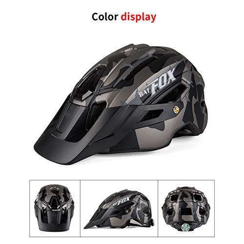 DIOI Fietshelm, zwarte inkt groen fietshelm racefietshelm mountainbike helm binnenkap helm