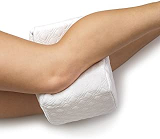AERIS Knee-Pillow-for-Side-Sleepers | Orthopedic Memory-Foam Leg-Pillow-for-Sleeping | Lower-Back-Pain, Sciatica-Hip-Pillow for Between-Legs-When-Sleeping | Restless-Leg-Syndrome