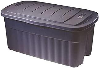 rubbermaid 40 gallon plastic tote