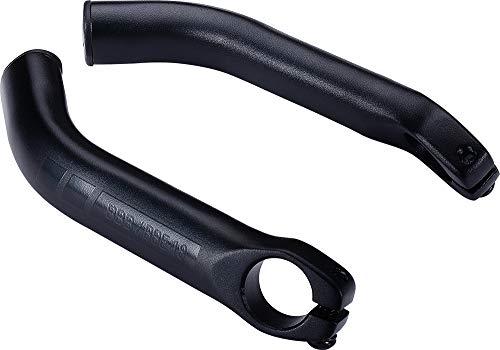 BBB 自転車用 ハンドルバーエンド ロックオン固定式 ライトカーブ BBE-18 ブラック 474168 長さ:150mm