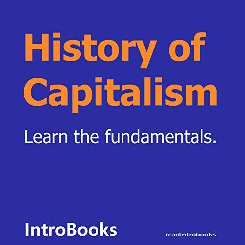 History of Capitalism cover art