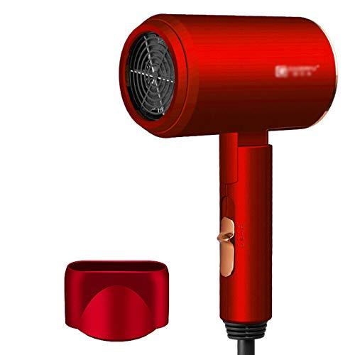 FRTG Secador de Pelo Profesional eólica Potente luz Azul anión secador de Pelo eléctrico secador de Aire Herramientas de peluquería,A