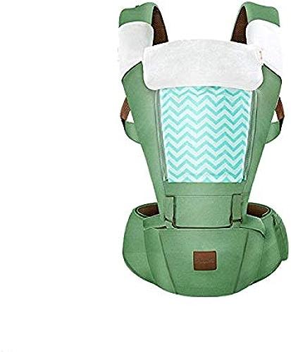 FTFTFTF Porte-bébé, Sangle de Tabouret Multifonctionnel à la Taille pour bébé Tenant Le Tabouret de siège Devant bébé Devant Le Porte-bébé MultiCouleure en Option