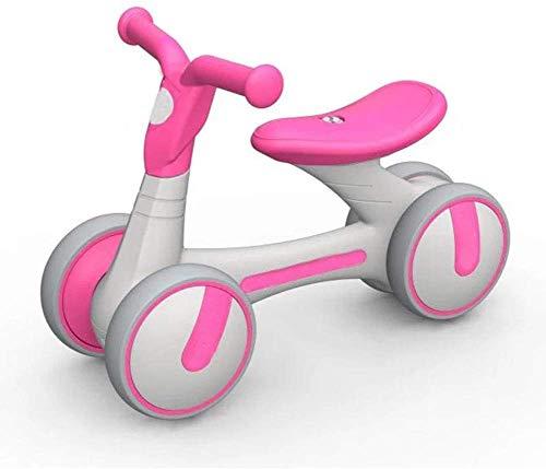 Veiligheidscadeau Kinderfietsen Baby-balanceerwagen, Loopstoeltje Scooter Baby zonder fiets Yo (Kleur: Rood A, Maat: 21.6inch)