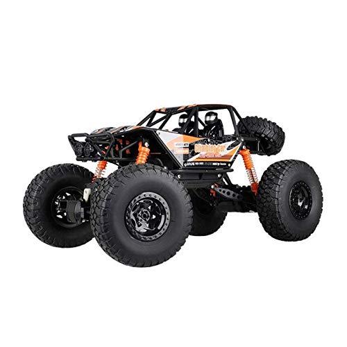 Decoración del hogar Todo terreno 1/10 Coche de escalada 4WD de alta velocidad grande Bigfoot Off-road Control remoto Coche 2.4G Carga inalámbrica Anti-caída Vehículo RC es un automóvil de juguete