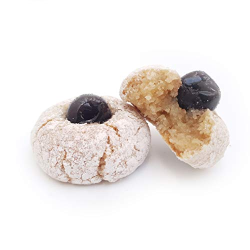 Paste di mandorla siciliane al gelso nero di Sicilia (box kg.1). RAREZZE: cannoli e cassate da antica pasticceria artigianale .