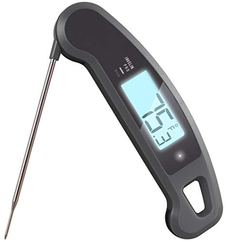 Lavatools Javelin PRO Duo Ambidextrous Backlit Professional Digital Instant Read Meat Thermometer