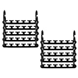 AIXMEET 10pcs Percha Plegable, 360ºPerchas de Armario Multifuncionales mágico...
