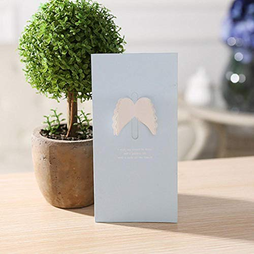 XCVB greeting card Invitation Greeting Cards Anniversary for Her Love 3D Heart Cards Postcard and Stickers Wedding,A,1PCS