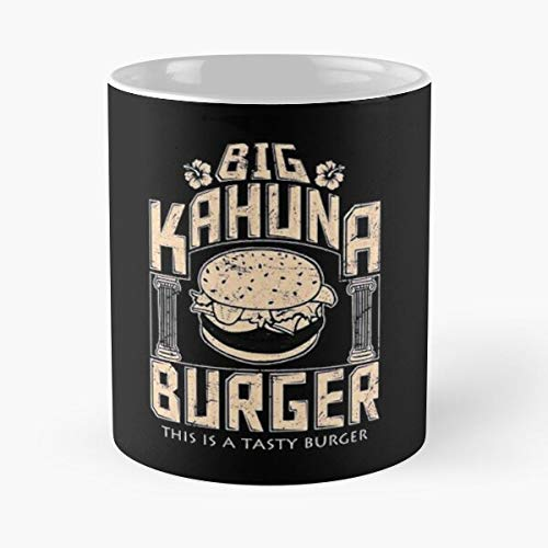 Junk Burger Tasty Castle Kahuna Big Food Essen Sie Essen Biss John Best 11oz Unze weiße Keramik Kaffeebecher