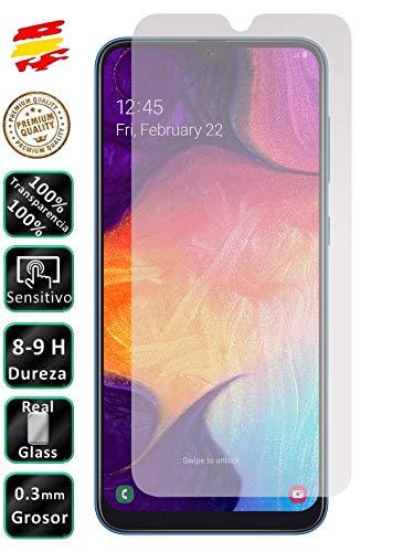 Preisvergleich Produktbild Movilrey Displayschutzfolie aus Hartglas 9H Premium für Samsung Galaxy A50 2019