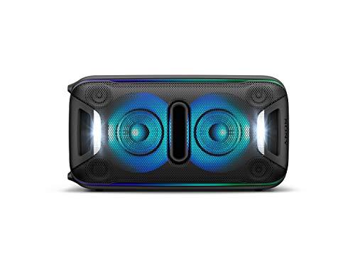 Sony GTK-XB72 High PowerParty Lautsprecher (Bluetooth, NFC, One Box Hifi Music System, Extra Bass, Lichtleiste, Lautsprecherbeleuchtung, Stroboskoplicht) schwarz - 7