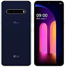 LG V60 ThinQ 5G 128GB Android Smartphone LM-V600TM (Renewed) (Classy Blue, 128GB, GSM Unlocked)