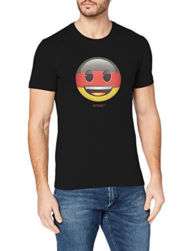 s.Oliver Herren 13.805.32.1234 T-Shirt, Schwarz (Black 99a4), Large