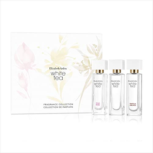 Elizabeth Arden White Tea Fragrance Collection 3 Piece Mini Gift Set, Perfume for Women
