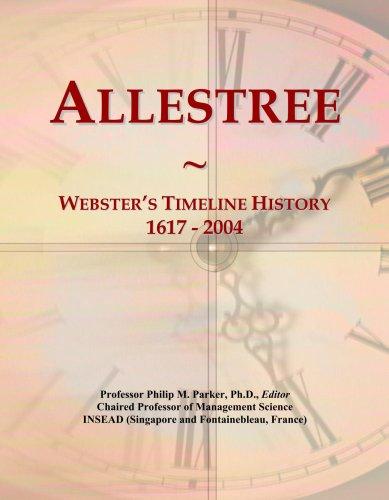Allestree: Webster's Timeline History, 1617 - 2004