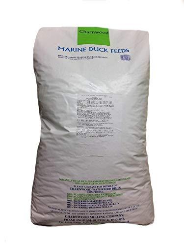 Charnwood Marine Dry Duck Food Pellets, 15 kg