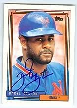 Autograph 223084 New York Mets 1992 Topps No. 227 Daryl Boston Autographed Baseball Card